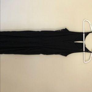 Black jump suit